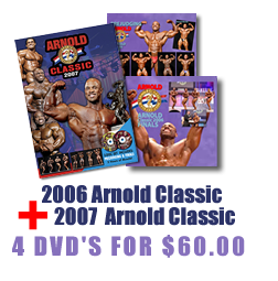 2006/2007 Arnold Classic Combo Pack