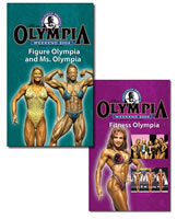 2004 Ms. Olympia & Figure Olympia , Fitness Olympia Combo (VHS)